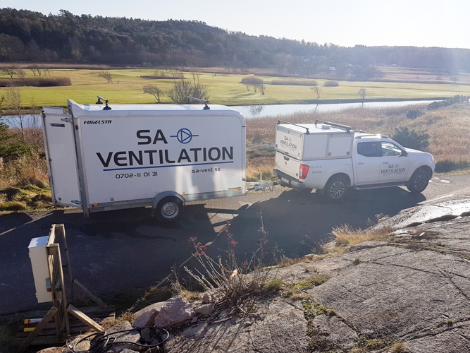 En helhetslösning, vi fixar ventilation och allt runtom.